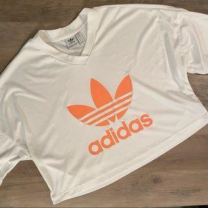 Adidas Trefoil Cropped T-Shirt